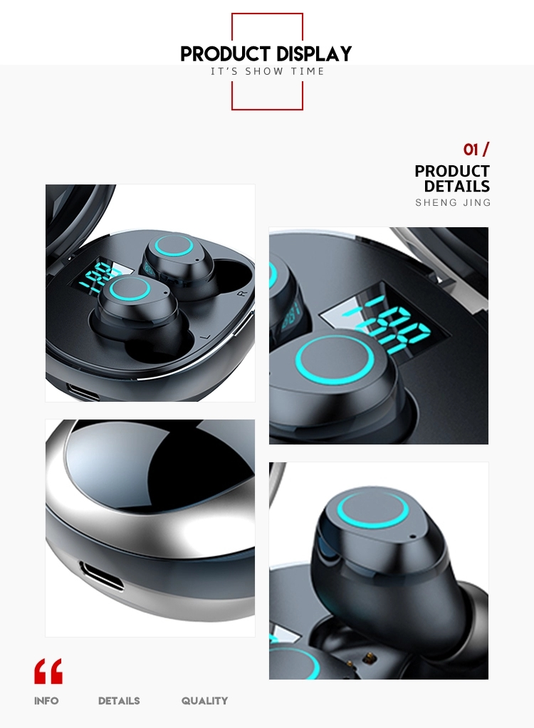 i07 Private Label Electronics New Arrivals 2019 Amazon tws 5.0 True Wireless Earbuds